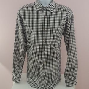 David donahue button down shirt